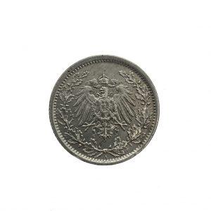 Duitsland; 1/2 Mark; 1917 (ZF+)