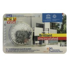 Nederland; 5 euro; 2013; Het Rietveld Vijfje in Coincard (BU)