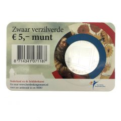 Nederland; 5 euro; 2011; Het Schilderkunst Vijfje in Coincard (UNC)