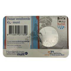 Nederland; 5 euro; 2012; Beeldhouwkunst Vijfje in Coincard (UNC)