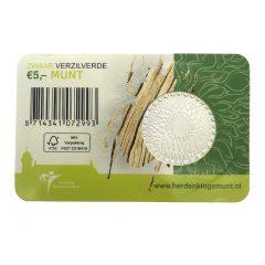 Nederland; 5 euro; 2011; Het 50 jaar WNF Vijfje in Coincard (UNC)