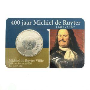 400 michiel de ruyter 5 euro